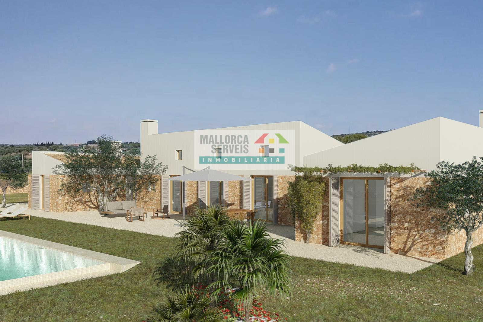 BUILDING PLOT WITH SEAVIEW AND PROJECT IN PORTO CRISTO